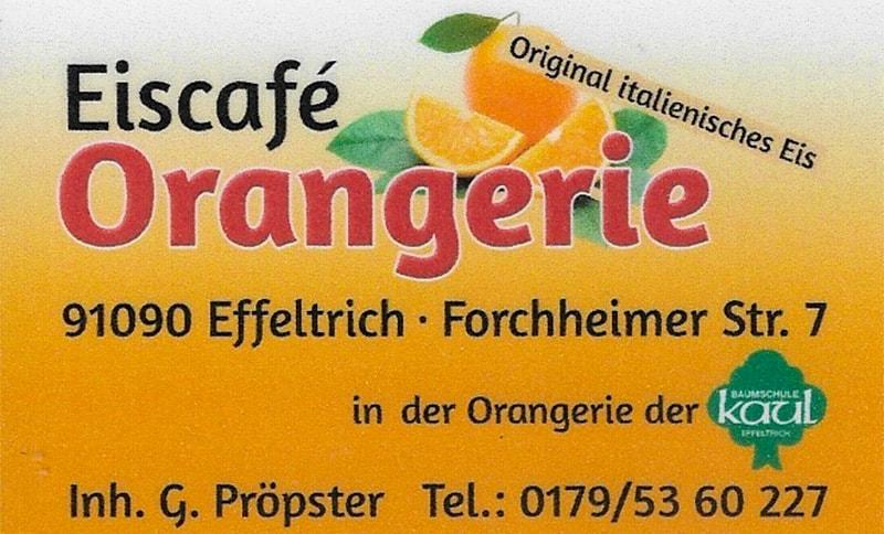Eiscafe Orangerie in Effeltrich
